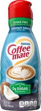 Enjoy smooth flavor & velvety texture. Nestle Coffee Mate Sugar Free Coconut Creme Liquid Coffee Creamer 32 Fl Oz Ralphs