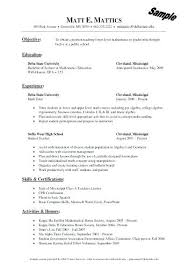 Sample Tutor Resume – Directory Resume Sample