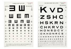 Eye Chart Actual Size Design Context Eye Chart Examples