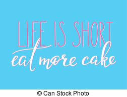 Handwritting Lettering With Phrase Life Is Short Buy The Shoes