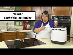 newair portable ice maker unboxing review countertop ice maker ai 250w amy learns to cook