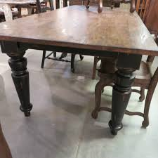 distressed black dining room table. Rustic Farmhouse Dining Table 84\ Distressed Black Room E