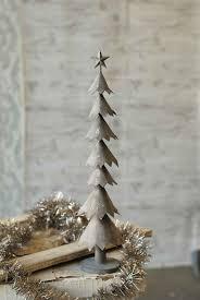 Grey Christmas Tree Metal Christmas Tree Grey Lancaster Home Holiday