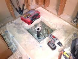 shower floor drain installation concrete how to install a shower drain in concrete floor installing shower