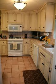 image of model of chalk paint kitchen cabinets