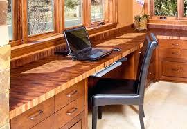 butcher block office desk mesquite end grain top ideas diy