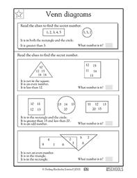 Amdm Venn Diagram Worksheet Answers Venn Diagram Math Worksheets 7th Grade 1st Diagrams Part 3