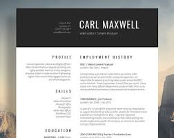 resume template cv template cover letter by introduice on etsyprofessional resume template   cv template   resume advice   cover letter   word  mac or pc    instant digital download    quot mayfair quot