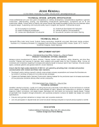 Technical Designer Resumes Fashion Designer Resume Sample Buyer Socialum Co