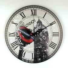wall clock wall clock london big large decorative modern design more silent vintage home decor watch