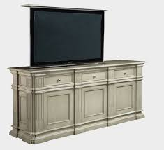 Flat screen tv lift cabinet