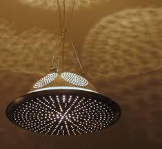 upcycled lighting ideas. unique ideas roswell pendant light usedrepurposedupcycled aluminum kitchenware in upcycled lighting ideas e
