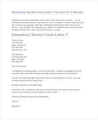Substitute Teacher Cover Letter Teacher Cover Letter Substitute Best