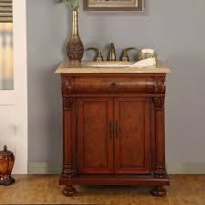 bathroom vanities albany ny. 32 Inch LED Single Sink Bathroom Vanity With Travertine Vanities Albany Ny