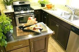 kitchen islands kitchen islands stainless steel top island cart w in rolling st