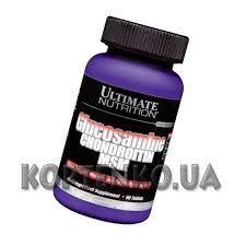 Для связок и суставов glucosamine chondroitin msm 90 таб