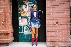 Man Repeller Three Ways To Wear A Denim Mini Skirt Man Repeller