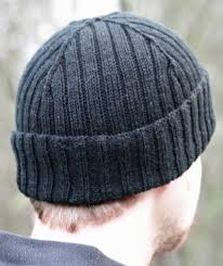 Mens Beanie Knitting Pattern Best Men's Hat Knitting Patterns In The Loop Knitting
