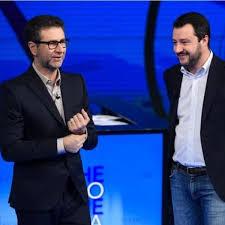 Matteo Salvini: Vado a Che Tempo Che Fa solo se Fabio Fazio si taglia lo  stipendio