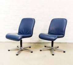 vintage office chair. Pair Of Vintage Office Chairs, 1980s Chair
