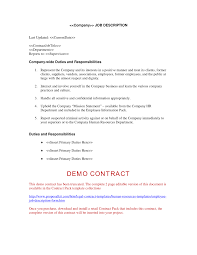 small business leadership ceo job description resume company job description form human resources letters forms and