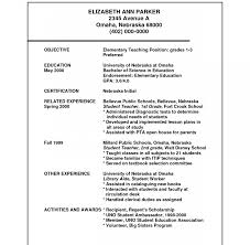 Free Teacher Resume Builder Archaicawful Free Teacheresume Templateesumes Templates Download 32