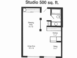 500 square feet apartment floor plan 500 sq ft apartment layout 500 square foot house plans