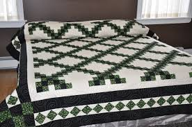 Quilts for Sale 2013 013 | TOP-QUALITY, HAND-MADE QUILTS & Quilts for Sale 2013 013. Double Irish Chain- King Size Adamdwight.com