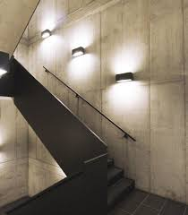 modern stairwell lighting. modern wall lights stairwell lighting m