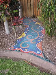 234 Best  Garden Paths And Stepping Stones  Images On Mosaic Garden Path