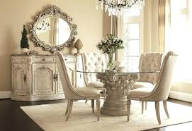 round dining table set for 4 solid with bench