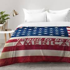 East Urban Home Proud To Be An American Flag forter Set