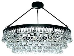 clarissa crystal drop small round chandelier instructions pottery barn intended for glass wire contemporary re