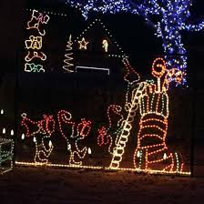 christmas rope lighting. Animated Elf And Stocking Outdoor Decoration With Rope Lights Light Christmas Tree Decorations Ideas Controller Lighting