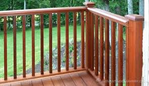 wood deck railing decking handrail baers wood deck railing systems wood deck railing diy