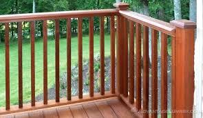 wood deck railing decking handrail baers wood deck railing systems wood deck railing diy