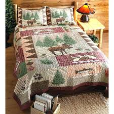 Country Home Quilts Rustic Quilt Sets Moose Lodge Set Great Look ... & country home quilts rustic quilt sets moose lodge set great look for your  cabin camper or Adamdwight.com