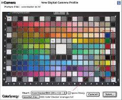 Gretagmacbeth Colorchecker Chart Picotographics Incamera Plug In
