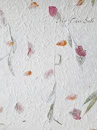 Flower Pressed Paper 10 Sheets A4 Natural Dried Fiber Mulberry Paper Pressed Natural Leaves And Flowers Handmade For Scrapbooking Flower Making Card Making Invitation