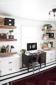 hey home office overhalul. Modern Office With Rustic Touches Hey Home Overhalul A