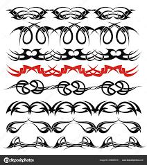 Styl Tetování Ornamenty Bílé Stock Vektor Ksyshakiss 239020910
