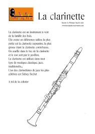 Dessin De Clarinette Coloriage De Clarinette Instrument De Musique