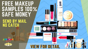free sle of makeup kits anyone from usa can get access
