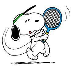 Snoopy Tennis Clip Art (Page 7) - Line.17QQ.com