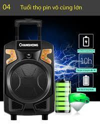 Loa Karaoke Bluetooth cao cấp CHANGHONG CYD-186 chính hãng, giá rẻ