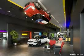 Dealership Showroom Design Dedicated Mini Dealership Features Dramatic Design And Fun