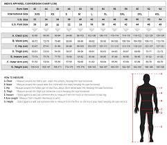 Rst Race Suit Size Chart 34 Expository Interstate Leather Jacket Size Chart