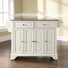 entranching kitchen island with granite top darby home co abbate kitchen island with granite top