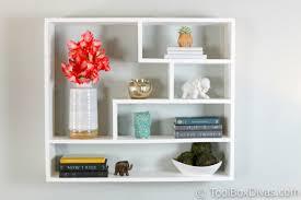 floating wall mounted bookshelf