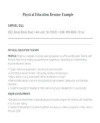 Special Education Resume Objective Education Resume Examples Special